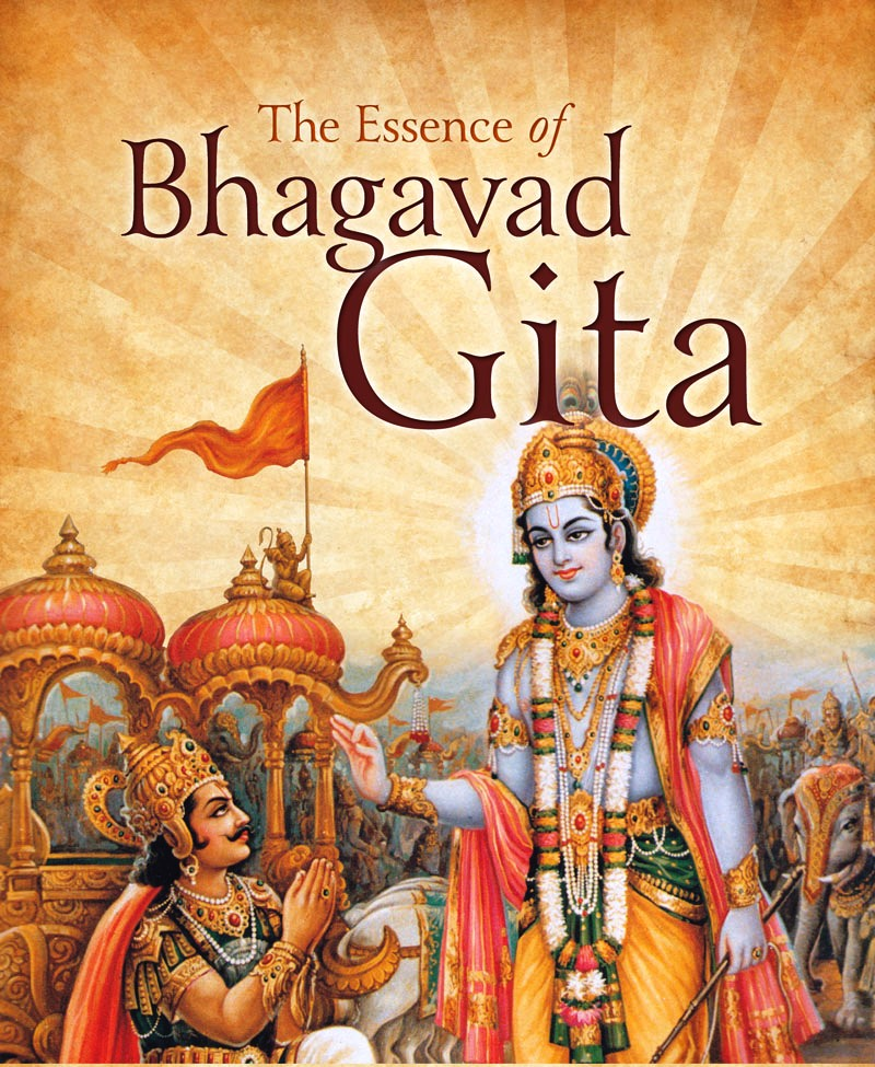 """a study of bhagavad gita Learn to enjoy what you are doing and stick to the meditation schedule that will be enough""""."""