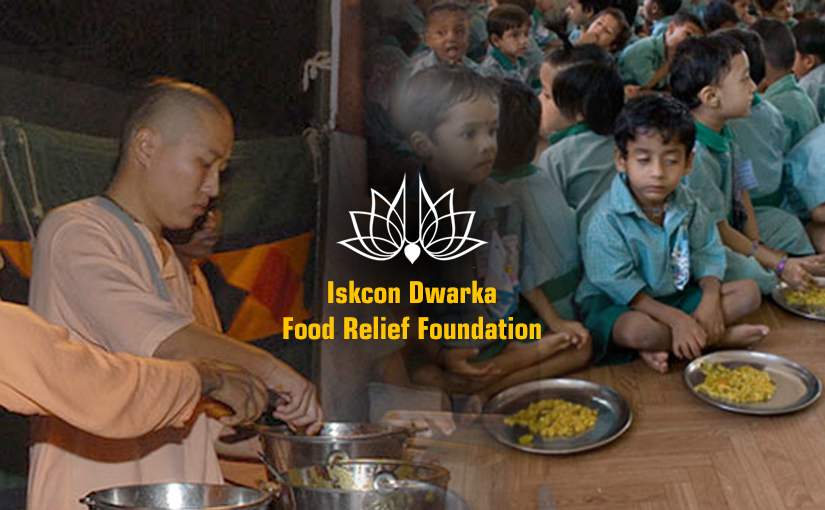 Donate for Food Relief Foundation by Iskcon