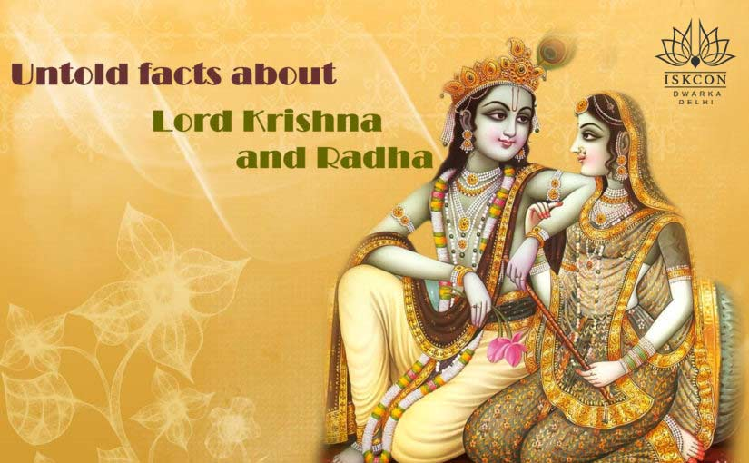 Facts of Krishna and radha